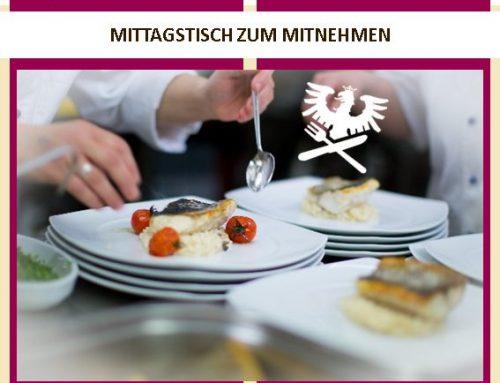 MITTAGSTISCH ZUM MITNEHMEN KW 14